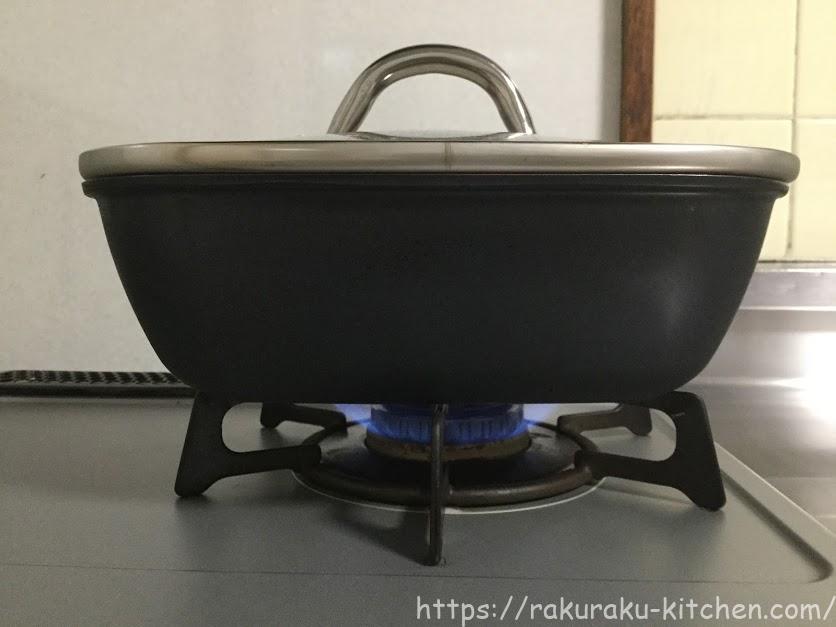 フレーバーストーン 炊飯