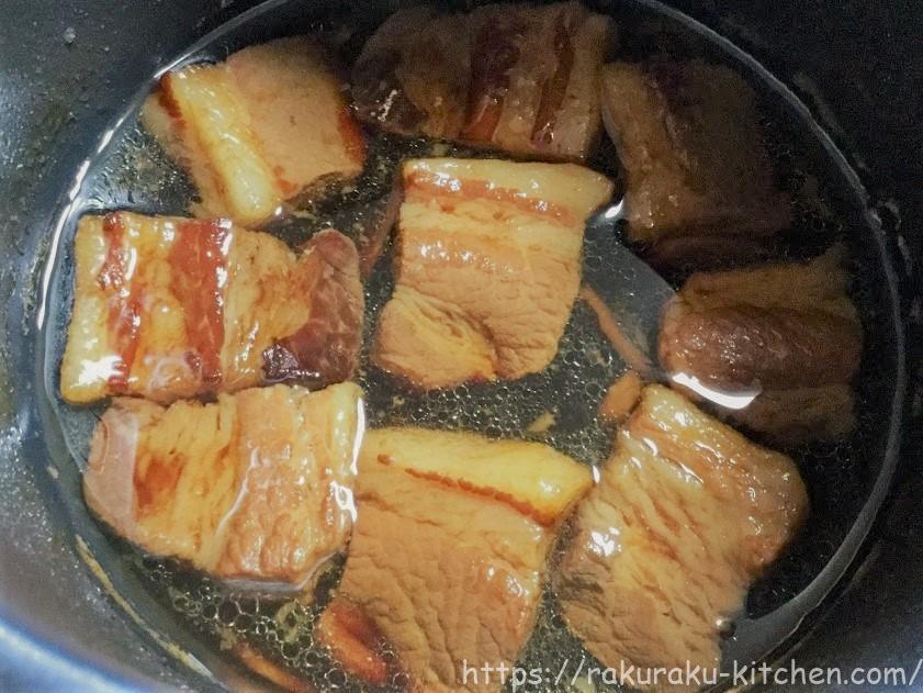 クッキングプロ 豚の角煮